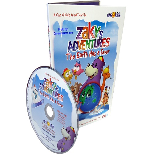Zaky's Adventures - The Earth Has a Fever (DVD)
