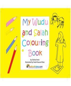 My wudu and Salah Colouring Book by Farhat Amin