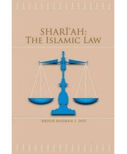 Shariah The Islamic Law By Abdur Rahman I. Doi