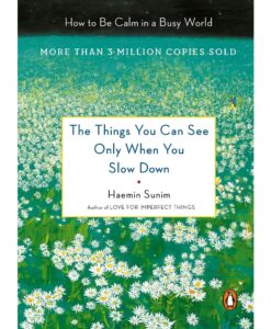 The Things You Can See Only When You Slow Down - by Haemin Sunim
