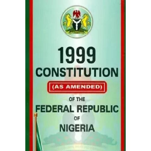 1999 Constitution of The Federal Republic of Nigeria