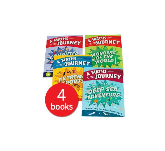 A Maths Journey Collection - 4 Books (Collection)