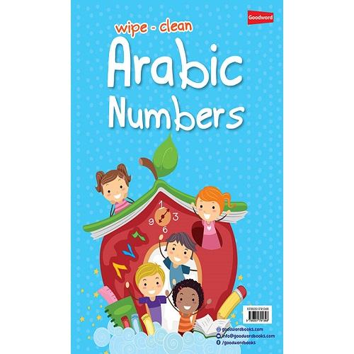 Wipe-Clean Arabic Numbers