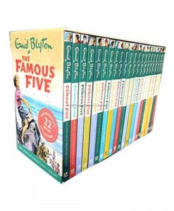 ENID BLYTON - THE FAMOUS FIVE: COMPLETE COLLECTION - 22 BOOKS (COLLECTION)