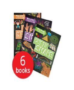 Maths is Everywhere Collection - 6 Books (Collection)