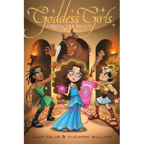Goddess Girls #13: Athena the Proud By Joan Holub, Suzanne Williams