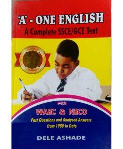 'A' - ONE ENGLISH