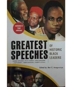 GREATEST SPEECHES OF HISTORIC BLACK LEADERS VOL 3