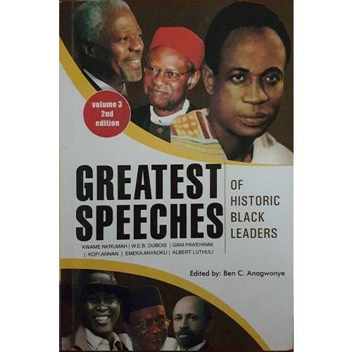 GREATEST SPEECHES OF HISTORIC BLACK LEADERS VOL 3
