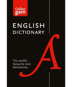 English Dictionary By Collins Gem
