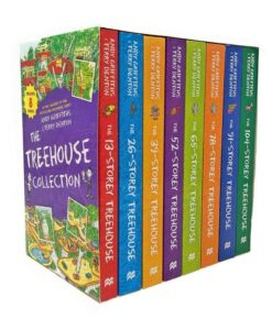 The Treehouse Collection 8 Books Collection Set By Andy Griffiths