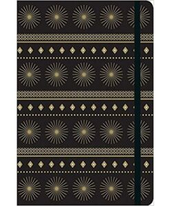 Modern Gold Starburst Gilded Journal