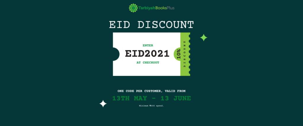 Eid Discount Code